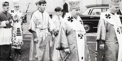 Patriarch Josyf Slypyj zu Besuch in Deutschland 1969.